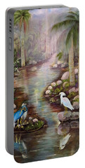 Tropical Fog Portable Battery Charger