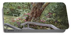 Tropical Garden Portable Battery Charger