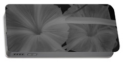 Tropical Garden Portable Battery Charger by Miguel Winterpacht