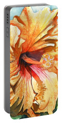 Tropical Hibiscus 3 Portable Battery Charger