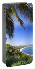 Tropical Holiday Portable Battery Charger by Daniel Sheldon