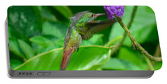 Portable Battery Charger featuring the photograph Tropical Hummingbird by Gary Keesler