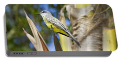 Portable Battery Charger featuring the photograph Tropical Kingbird by Teresa Zieba