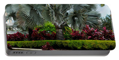 Tropical Landscape Portable Battery Charger