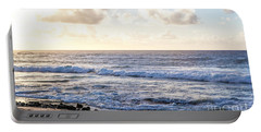 Portable Battery Charger featuring the photograph Tropical Morning  by Roselynne Broussard