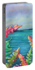 Tropical Scene Portable Battery Charger