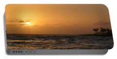 Tropical Sunset In Kauai Portable Battery Charger by P S