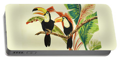 Tropical Toucans I Portable Battery Charger