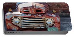 Ford In Goodland Portable Battery Charger by Lynn Sprowl