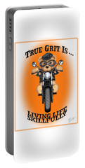 True Grit Portable Battery Charger by Jerry Ruffin