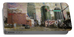 Portable Battery Charger featuring the photograph Truman Road Kansas City Missouri by Liane Wright