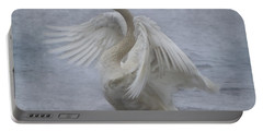 Trumpeter Swan - Misty Display Portable Battery Charger
