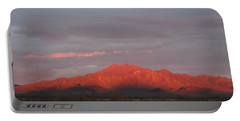 Portable Battery Charger featuring the photograph Tucson Mountains by David S Reynolds