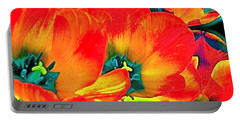 Portable Battery Charger featuring the photograph Tulip 1 by Pamela Cooper