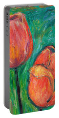Tulip Dance Portable Battery Charger