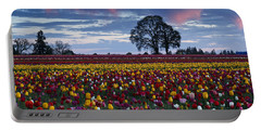 Tulip Field's Last Colors Portable Battery Charger