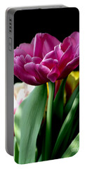 Tulip For Easter Portable Battery Charger