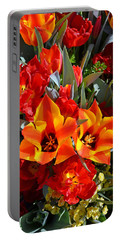 Tulips At The Pier Portable Battery Charger