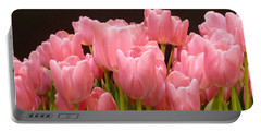 Tulips In Bloom Portable Battery Charger