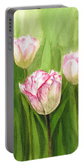 Tulips In The Fog Portable Battery Charger