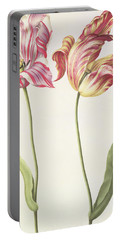 Tulips Portable Battery Charger by Nicolas Robert