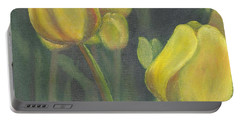 'tulips Stand' Portable Battery Charger