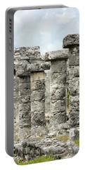 Portable Battery Charger featuring the photograph Tulum by Silvia Bruno