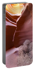 Portable Battery Charger featuring the photograph Tumbleweed In The Canyon by Bryan Keil
