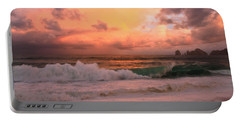 Portable Battery Charger featuring the photograph Turbulence  by Eti Reid