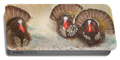 Turkeys Portable Battery Charger