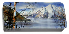Turnagain View Portable Battery Charger by Teresa Ascone
