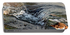 Turnstone By The Water Portable Battery Charger
