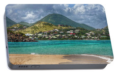 Portable Battery Charger featuring the photograph Turquoise Paradise by Hanny Heim