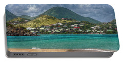 Turquoise Paradise Portable Battery Charger by Hanny Heim