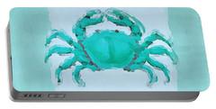 Turquoise Seashells I Portable Battery Charger