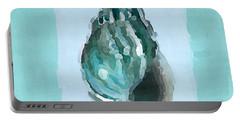 Turquoise Seashells V Portable Battery Charger