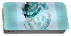 Turquoise Seashells Vi Portable Battery Charger