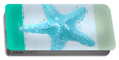 Turquoise Seashells Xiii Portable Battery Charger