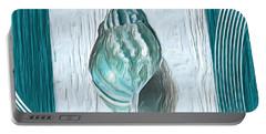 Turquoise Seashells Xx Portable Battery Charger