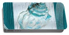 Turquoise Seashells Xxiv Portable Battery Charger