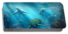 Turtle Alley Portable Battery Charger