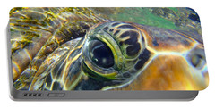 Turtle Eye Portable Battery Charger by Carey Chen