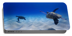 Turtle Pair Portable Battery Charger