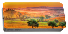 Tuscan Dream Portable Battery Charger by Midori Chan