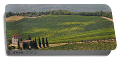 Tuscan Hillside Portable Battery Charger