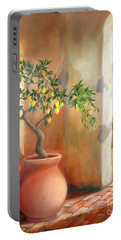 Tuscan Lemon Tree Portable Battery Charger