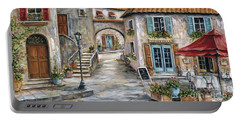 Tuscan Street Scene Portable Battery Charger