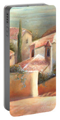Tuscan Village Portable Battery Charger by Michael Rock