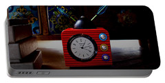 Tv Clock Portable Battery Charger