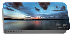 Twilight On Lake Lanier Portable Battery Charger